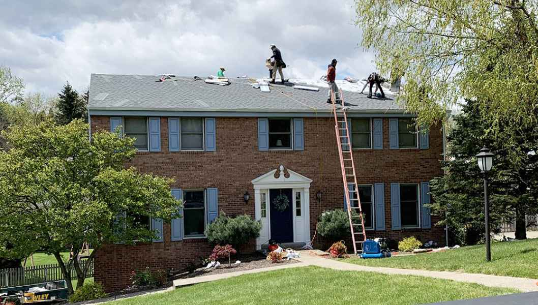 roofing company mccandless township
