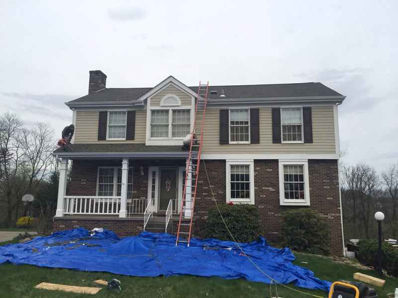 glenshaw new roof replacement