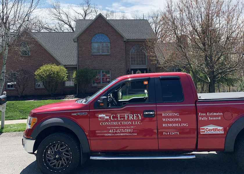 roofing company adams township