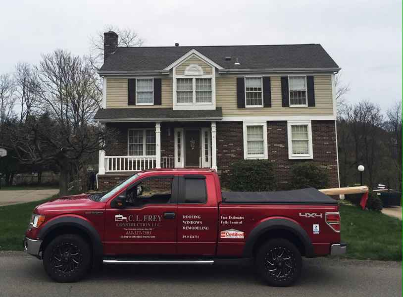 glenshaw roofing project