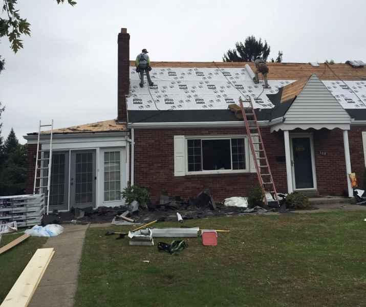 professional roof installation ross township
